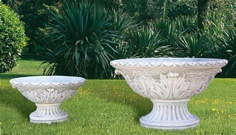 large garden plant pots modern patio outdoor