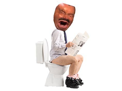 sticker de guerriergallois sur risitas toilette chiotte constipe diarrhee caca crotte popo chier