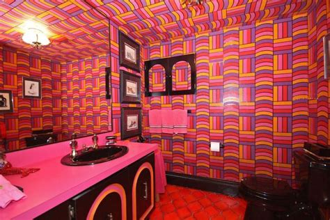 untouched  house preserved  psychedelic time