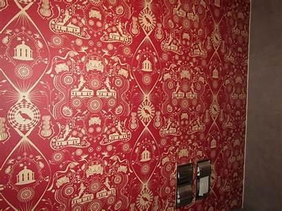 Hotel Restaurant Ice Fire Protea Fabrics Wallpapers