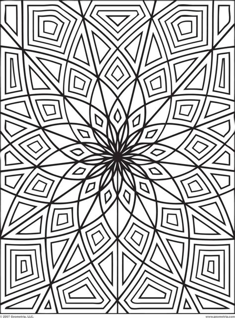Coloring Designs Printable by Coloring Pages Design Coloring Pages Printable Flower