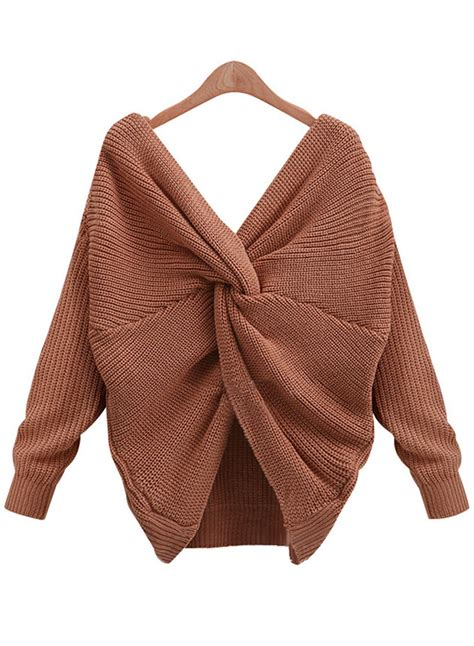 v neck sweater with tie tie v neck pullover knitted sweater azbro com