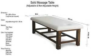 Therapeutic Massage Chair by Solid Massage Table Espace Spa Bali Seminyak