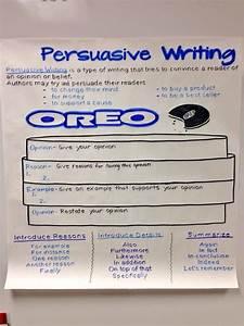 Essay Organizer Oreo Persuasive Writing Opinion Reason Example Opinion