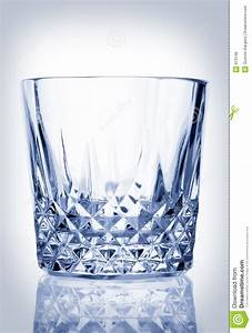 Cool Crystal Glass Tumbler Royalty Free Stock Photos