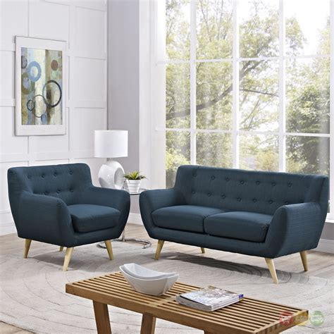 mid century modern remark pc button tufted living room