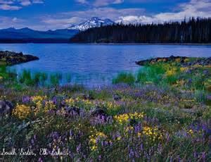 Mountain Cascade Lakes Oregon