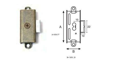 serrature armadi serratura per armadi ad aste nikelata serrature