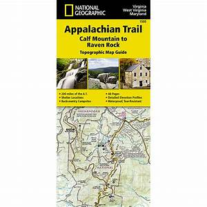 National Geographic Appalachian Trail  Calf Mountain To