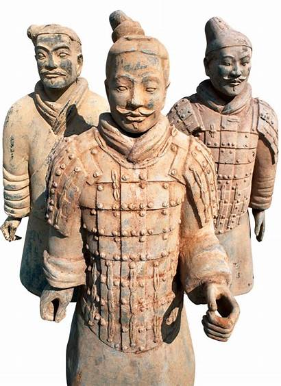 China Ancient Army Terracotta Wall Quiz Transparent