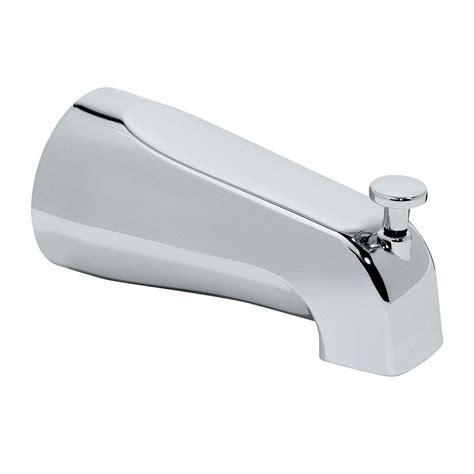 tub diverter american standard diverter slip on tub spout polished