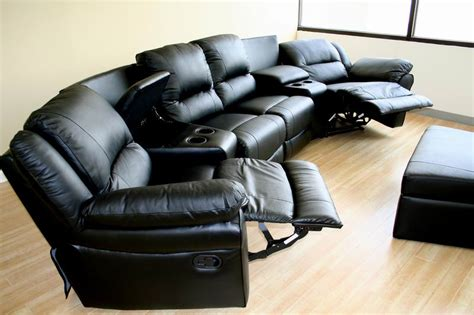 theaters with reclining chairs nyc new home theater seating recliner chairs 4 seats ebay