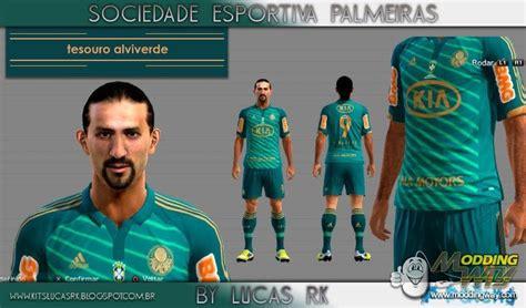 Palmeiras Third Kit 12/13 By Lucas RK - Pro Evolution ...