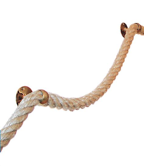 le de bureau laiton corde de chanvre pour re d 39 escalier corde naturelle