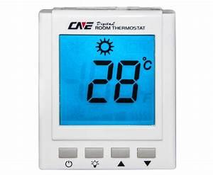 Thermostat Manual Blue Screen 24v