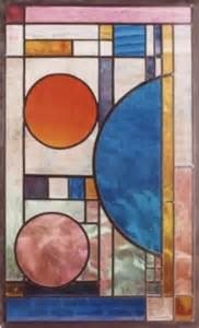 Art Deco Stained Glass Design