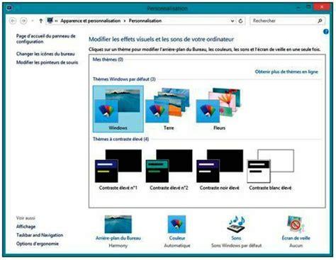 bureau windows 7 sur windows 8 1 tutoriel windows 8 1 personnaliser le bureau