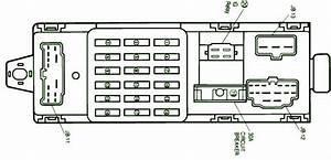 1995 Mazda Mx6 Main Fuse Box Diagram  U2013 Auto Fuse Box Diagram
