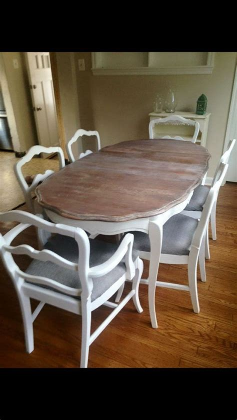 white dining set french provincial dining room set