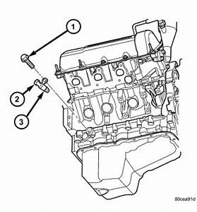 2007 Dodge Nitro P0335 Crankshaft position sensor A