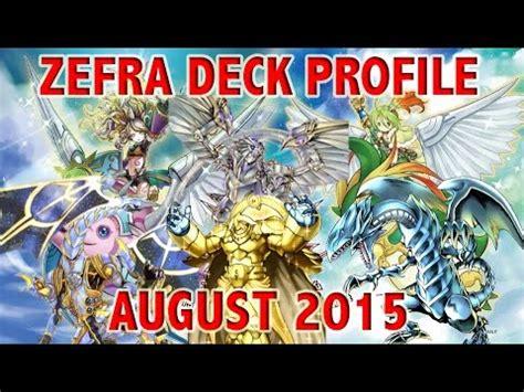 yugioh updated zefra deck profile july 2015 funnycat tv