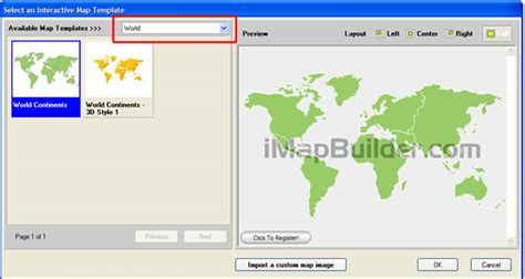 create world map  software