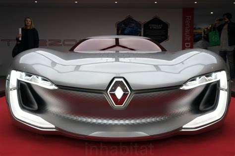 Renault Electric Car by Renault Trezor Concept Previews An Exciting Electric