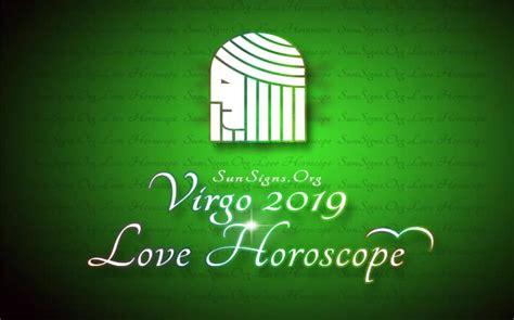 Virgo Love Horoscope 2019