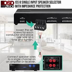 High Power Speaker Selector 8 Pair Osd