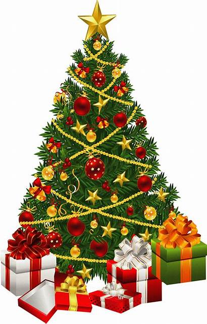 Christmas Tree Clipart Clip Related Trees Domain