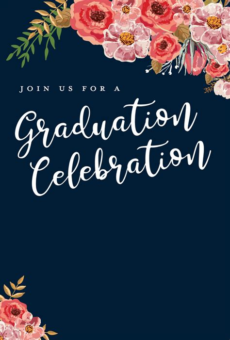 editable graduation party invitation templates tips