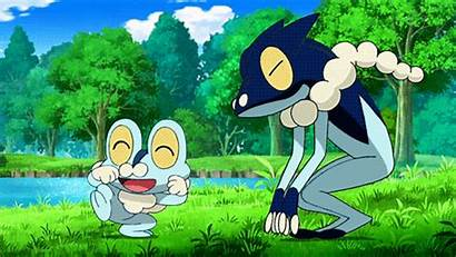 Froakie Shiny Frogadier Pokemon Giphy Gifs Gastrodon