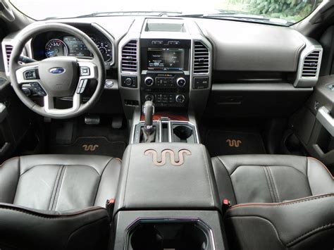 2015 ford f 150 interior 2015 ford f 150 king ranch is comfortable aluminum