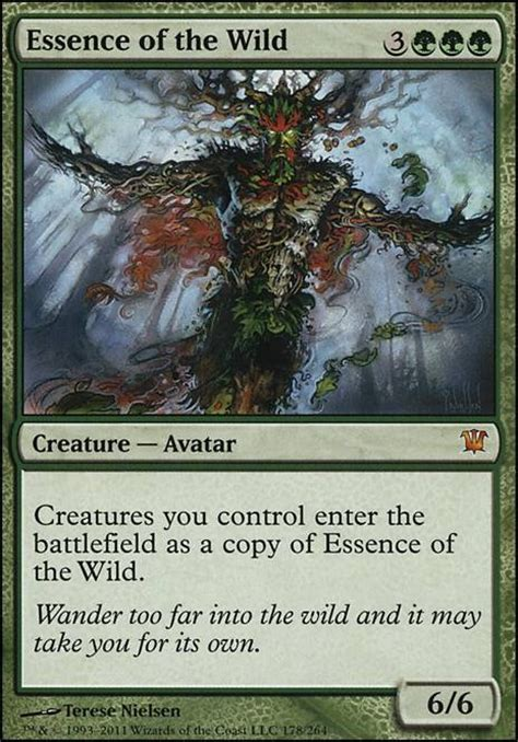 Vintage Squirrel Deck Mtg by Essence Of The Isd Mtg Card