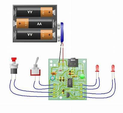 Genie Circuit Board C08 Operation Microcontroller Flowchart
