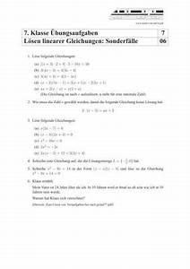 Scheitelpunkt Berechnen Aufgaben Mit Lösungen : lineare gleichungen l sen bungen und aufgaben mit l sungen schulminator ~ Themetempest.com Abrechnung