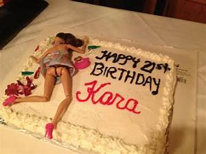 Pin Drunk Barbie 21st Birthday Cake Cake on Pinterest