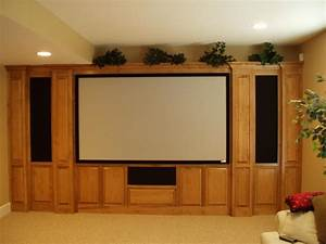 Custom home theater cabinets decor ideasdecor ideas for Home theater cabinet