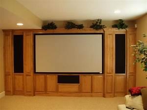 Custom home theater cabinets decor ideasdecor ideas for Home theater cabinet