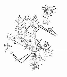Mtd 38 Mower Deck Belt Diagram