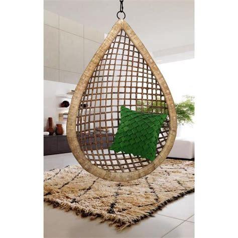 affaire de bureau fauteuil suspendu bamboo fait forme goutte d 39 eau