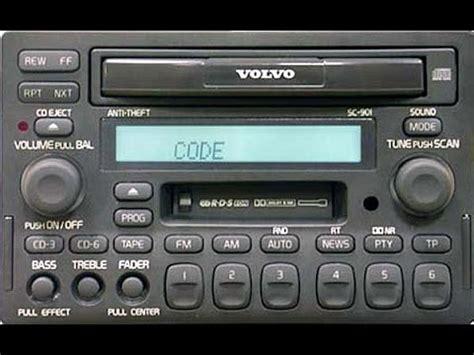 volvo sc   stereo   speaker dynamic package