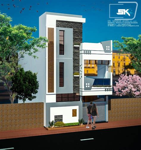 introducing modern house elevation design   front