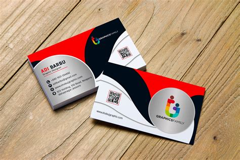 psd creative business card design graphicsfamily