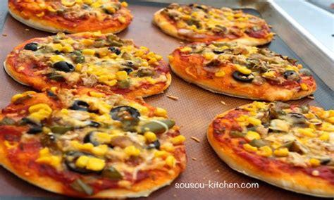 cuisine agneau recette de pizza mini pizza sousoukitchen