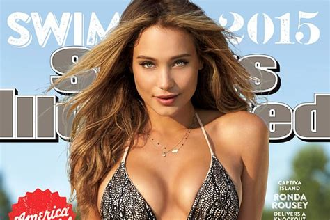 Hannah Davis Is Chosen As Sports Illustrated S Swimsuit Issue Cover Girl
