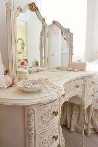 Shabby Chic Stühle : 25 best ideas about shabby chic vanity on pinterest vintage vanity vanity table vintage and ~ Orissabook.com Haus und Dekorationen