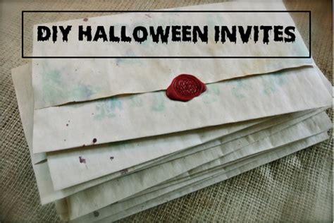 DIY Halloween Invitations Fashion Mumblr