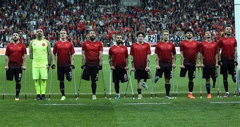 turkish national amputee football team crowned european