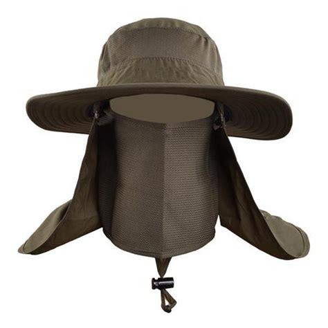 fashion sun hats mens large  brim unisex block quick